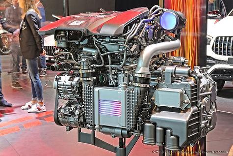 Mercedes-Benz 4-cilinder 2.0l Turbo benzine motor