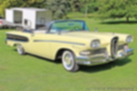 Edsel Pacer Convertible - 1958