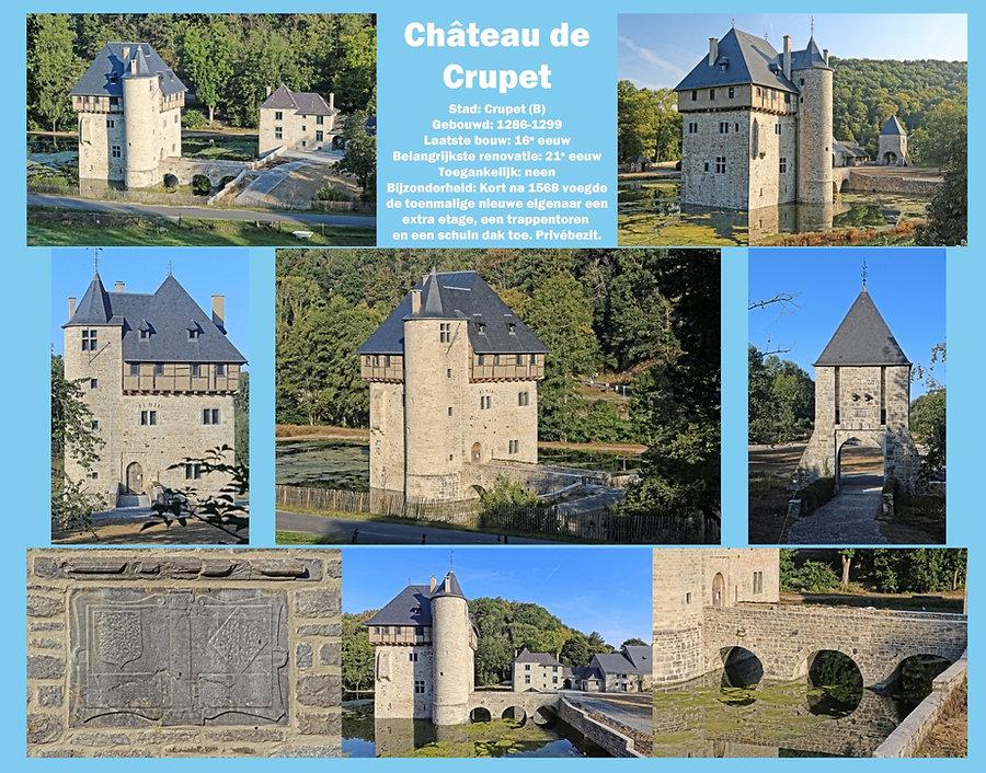Château de Crupet, Belgium