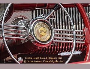 Pebble Beach Tour d'Elegance 2018 Ocean Av