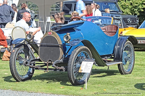 Bugatti Type 13 Torpedo - 1913