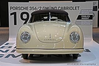 Porsche 356/2 Gmünd Cabriolet - 1949