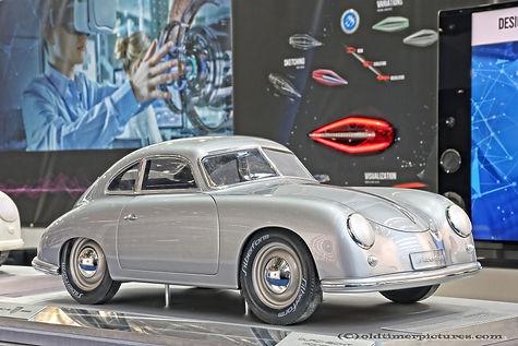 Silberform Porsche 356 model