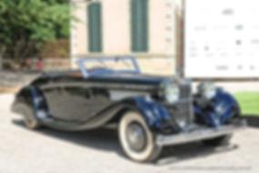 Hispano-Suiza K6 Cabriolet Brandone - 1935