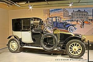 Renault 22/24 Type DP Mühlbacher Town Car - 1913