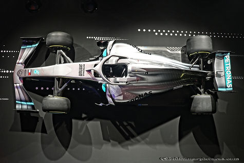 Mercedes AMG W09 F1 2018