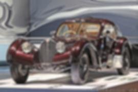 Bugatti 57 SC Atlantic - 1938