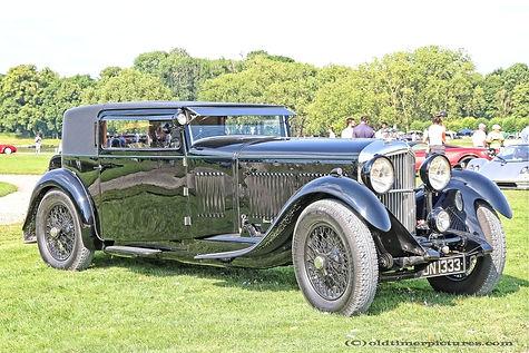 Bentley 8 Litre Foursome Coupé - 1933
