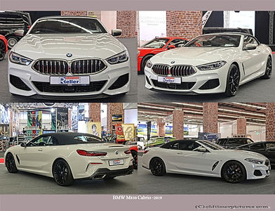 2019-BMW M850 Cabrio -2019