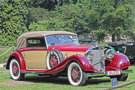 Mercedes-Benz 500 Kompressor Cabriolet C - 1935