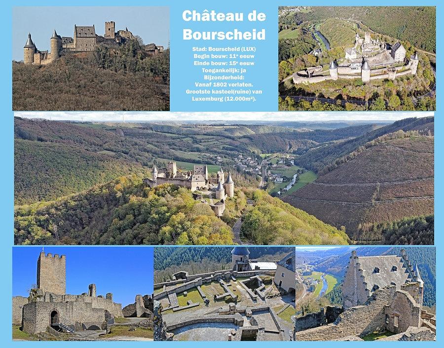 Château de Bourscheid, Luxemburg