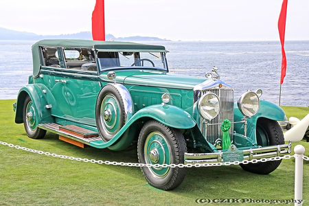 Minerva Type AL Rollston Convertible - 1931