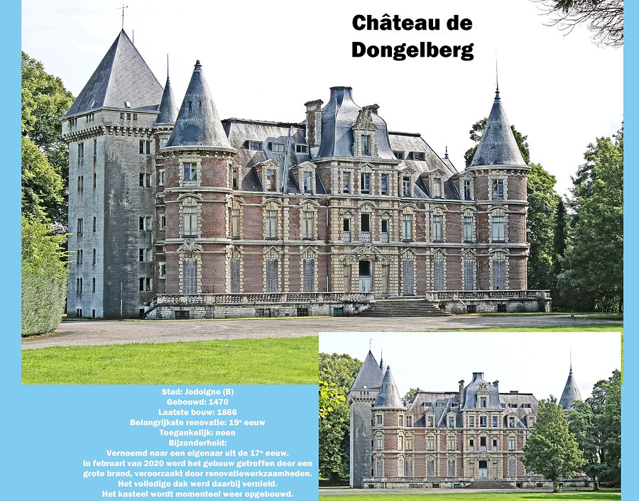 Château de Dongelberg, Belgium
