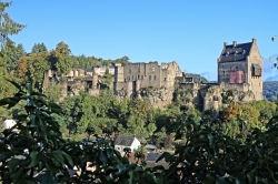 Chateau de Larochette, Luxemburg