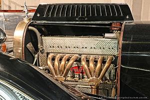 Bugatti Type 46 Engine - 1930