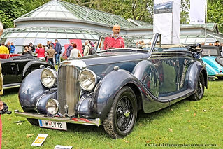 Lagonda V12 Redfern Tourer Drophead Coupé by Maltby - 1939