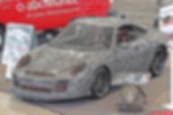 Porsche GT3 RS uit staal - 20.000 delen