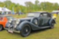 Alvis Speed 25 SB Cabriolet - 1936