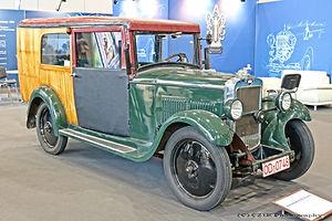 Hanomag 4/23 Kombi - 1931