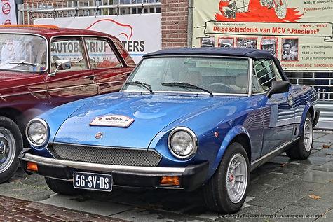 Fiat 124 Spider 2000 USA - 1981