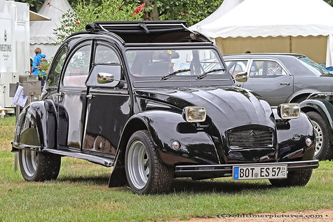 Citroën 2CV post 1975 tuned