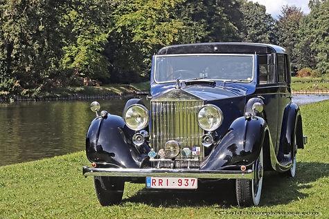 Rolls-Royce 25/30 Sedanca de Ville by Gurney Nutting - 1937