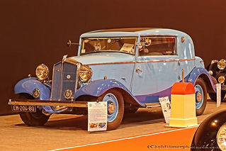 Mathis EMY 4F Coupe Deauville - 1933