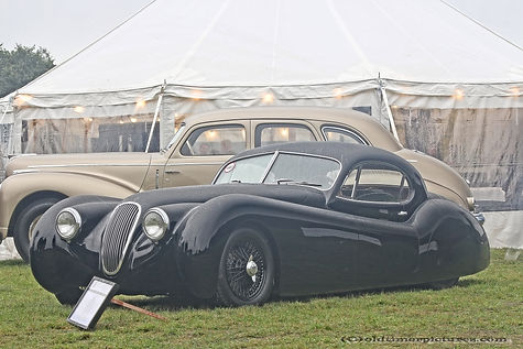 Jaguar XK120 by Justin Hills - 1953
