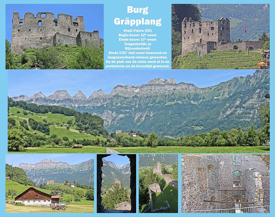 Burg Gräpplang, Switzerland