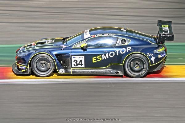 Aston Martin GT3, Spa-Francorchaps