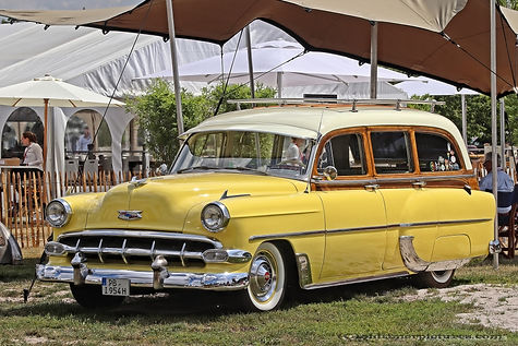 Chevrolet Bel Air Station Wagon - 1954