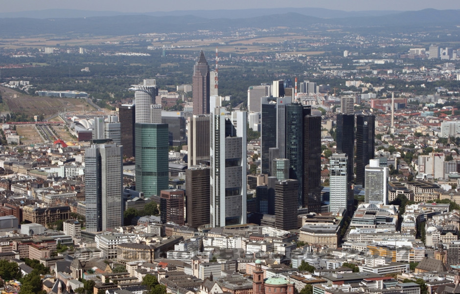 Frankfurt from the air