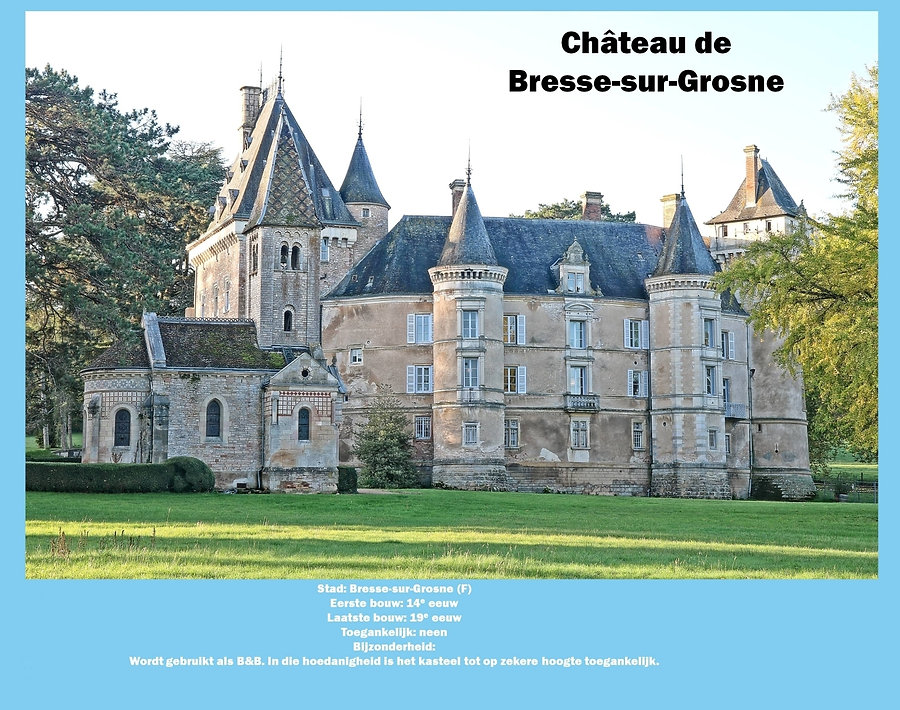 Château de Bresse-sur-Grosne