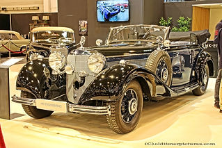 Mercedes-Benz 540K Cabriolet B - 1938