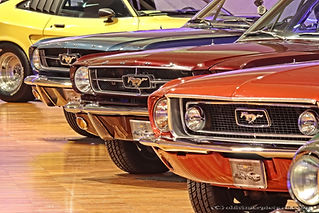 55 jaar Ford Mustang