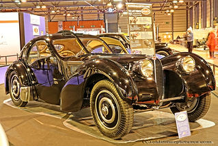 Bugatti 57 SC Atlantic - 1936 Koux replica
