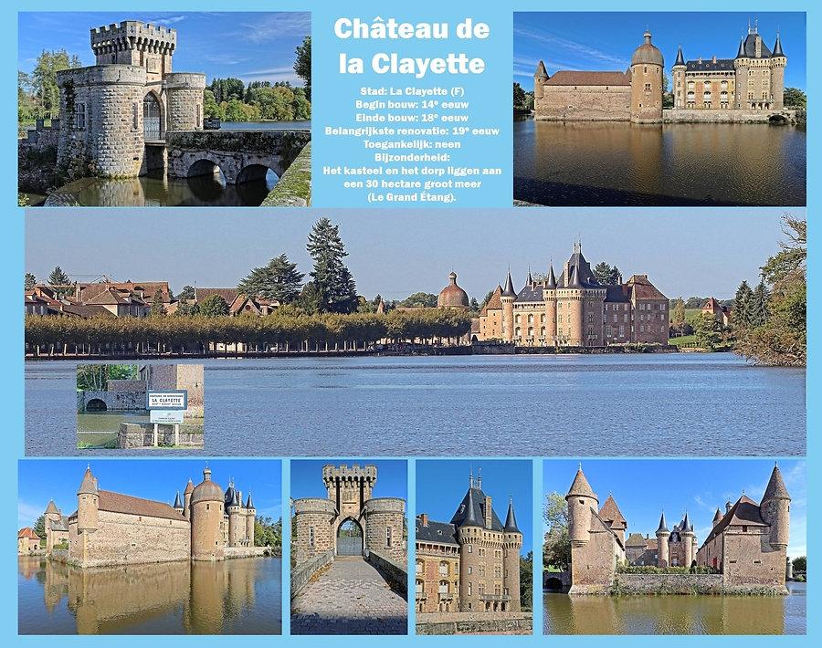 Château de La Clayette, France
