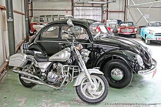 Jinlun 125-11 & VW Kever - 1952