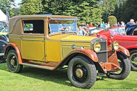Fiat 509CR Weymann Coupé Royal - 1929