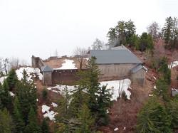 Le Fort vue de l'arrière