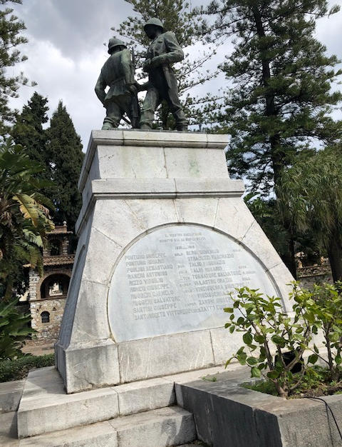 WWI and WWII Heroes of Taormina
