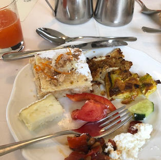 Breakfast Sicilian Style