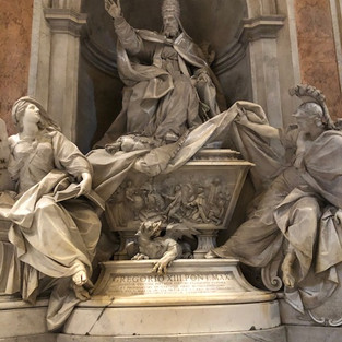 Pope Gregory XIII's Tomb