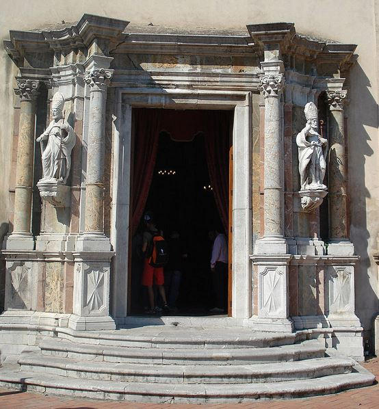 Doorway of  Church of San Pancrazio