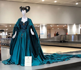 venice blue dress airport.jpg