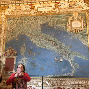 Mosaic of Italy