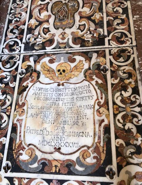 Tomb of of St. Pancrazio
