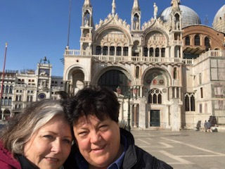 di and I at st marks.jpg