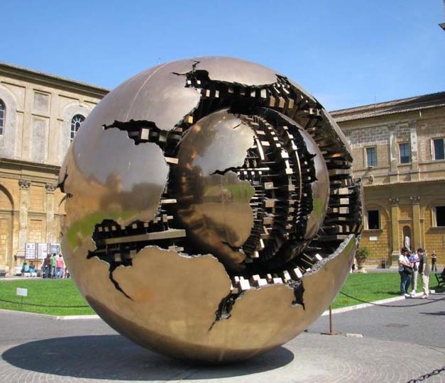 Arnaldo Pomodoro's Sphere