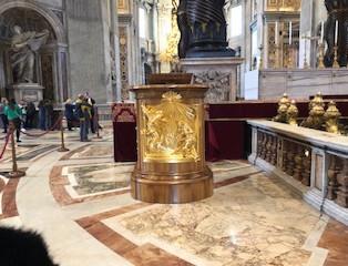 golden pulpit